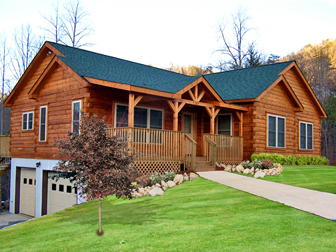 Log Home Floor Plan Columbus 3