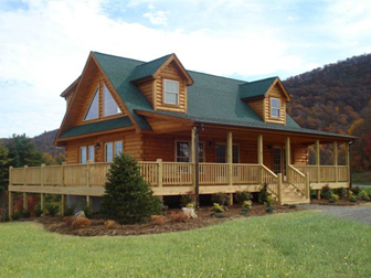 Log Home Floor Plan Highlands 5
