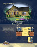 Log Cabin Floor Plans: Pisgah 3