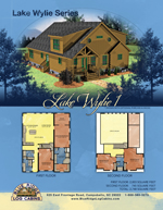 Log Cabin Floor Plans: Lake Wylie 1