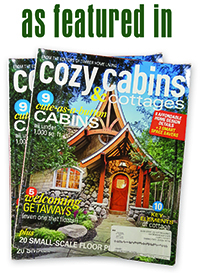 Log Cabins: Alan Coeby