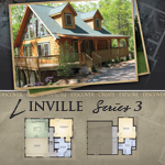 Log Cabin Floor Plans: Linville 3