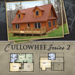 Modular Log Homes: Cullowhee 2