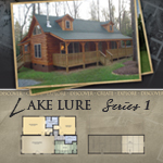 Modular Log Homes: Lake Lure 1