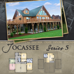 Modular Log Homes: Jocassee 5