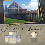 Modular Log Homes: Jocassee 1