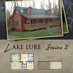 Modular Log Homes: Lake Lure 2