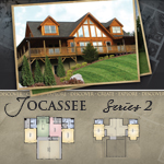 Modular Log Homes: Jocassee 2